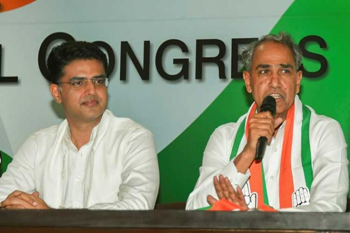 Congress MLA Harish Meena (File photo)- India TV