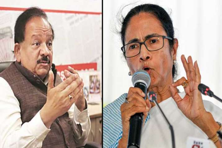 dr harshvardhan and mamata banerjee- India TV