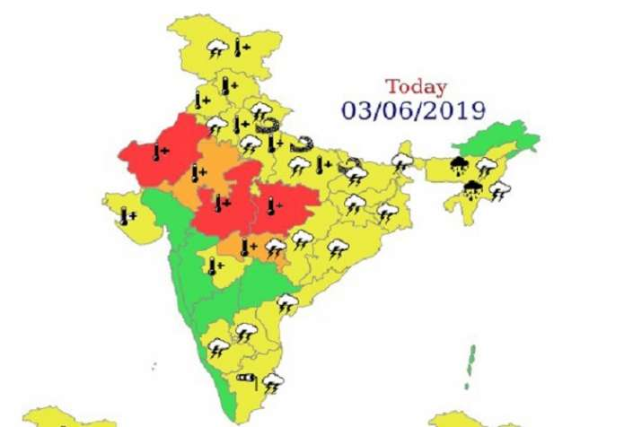 IMD issues red alert for heat waves temperature increases for next few days- India TV