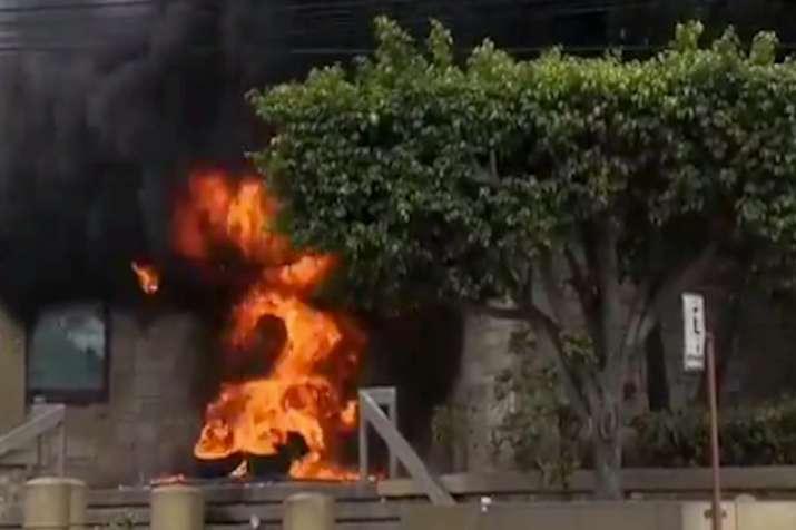 होंडुरास: विरोध प्रदर्शनों के बीच अमेरिकी दूतावास में आग- India TV