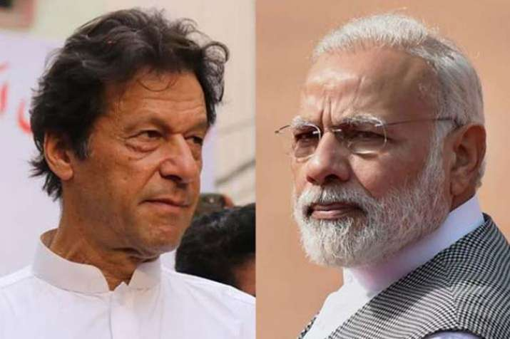 Imran Khan and Narendra Modi- India TV