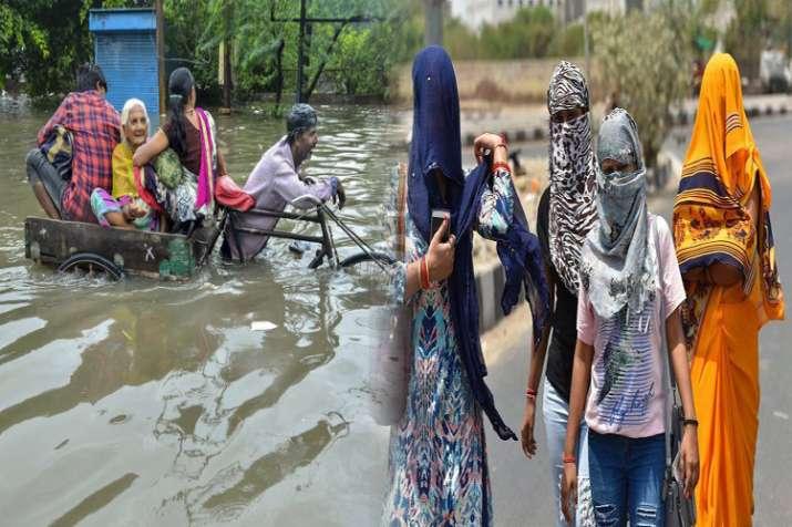 भारत में मौसम ऊटपटांगा, उत्तर भारत में पारा 50 के पार-दक्षिण भारत में आफत की बारिश- India TV