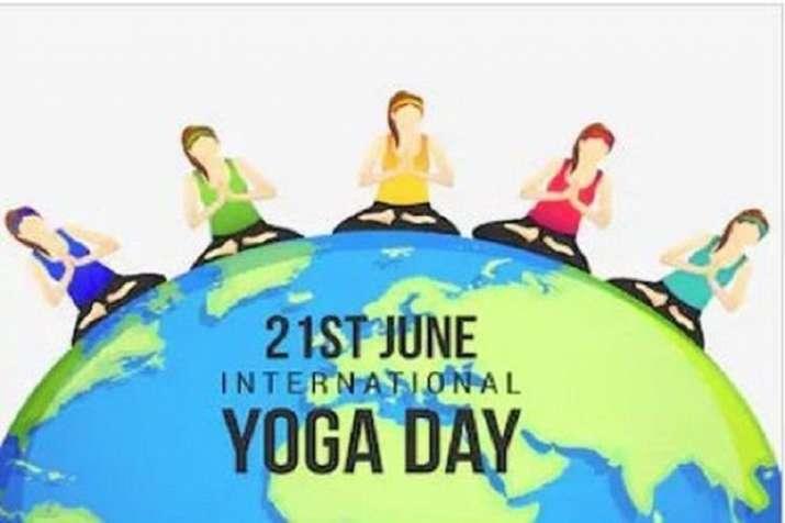 yoga day celebrated in uttar pradesh- India TV