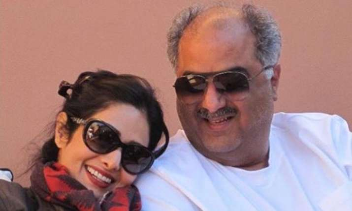 Janhvi Kapoor shares picture of Sridevi and Boney Kapoor on instagram- India TV