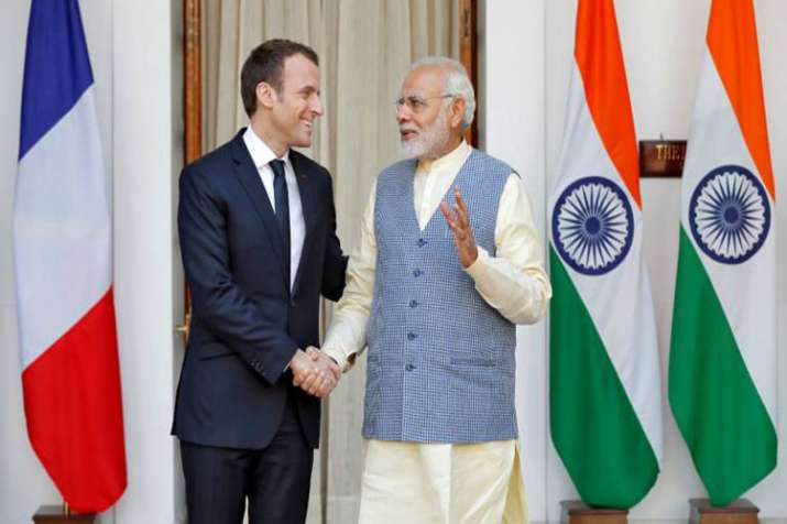 Modi has accepted Macrons invite to attend outreach session of G7 Summit: MEA- India TV