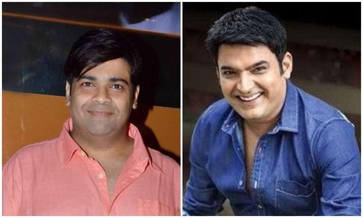 Kiku sharda and kapil sharma- India TV
