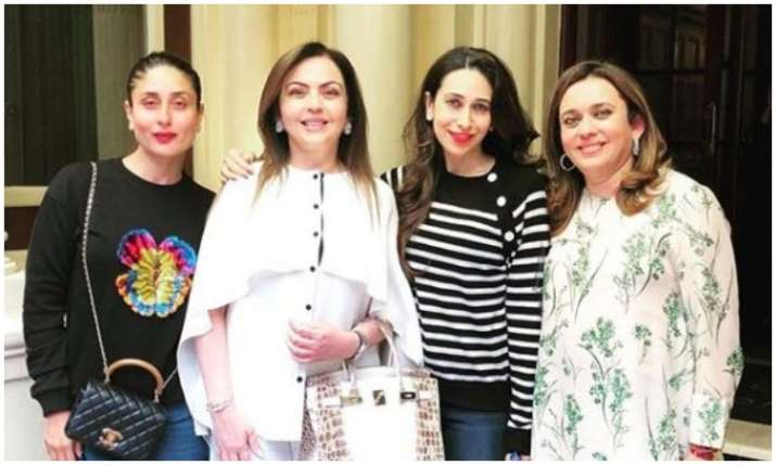 Kareena kapoor, karisma kapoor and nita ambani- India TV