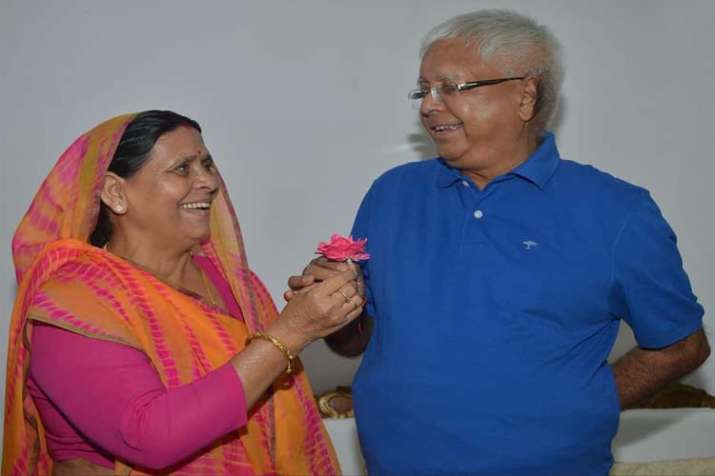 Lalu Prasad and Rabri Devi- India TV