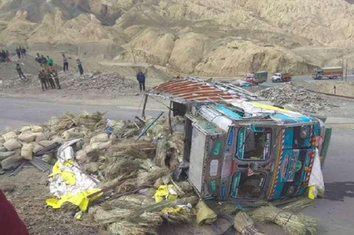leh accident- India TV