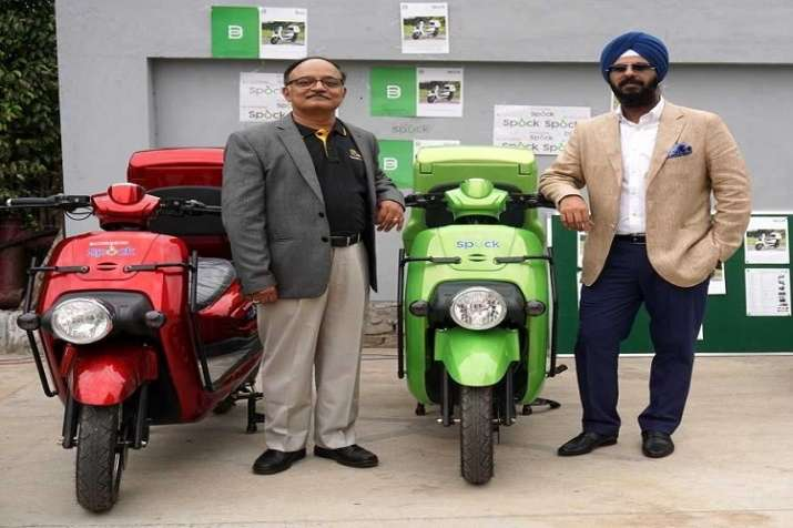 Li-ions Elektrik Solutions Pvt. Ltd. launches high speed electric 2-wheeler, SPOCK- India TV Paisa