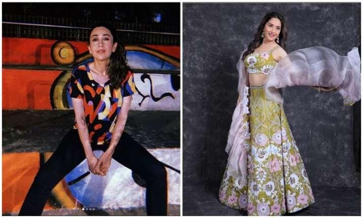 Karisma kapoor and Madhuri Dixit- India TV