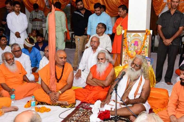 Ram Janambhoomi Nyas President Mahant Nritya Gopal Das...- India TV