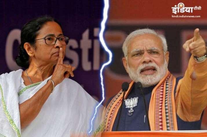 Mamata Banerjee and PM modi- India TV