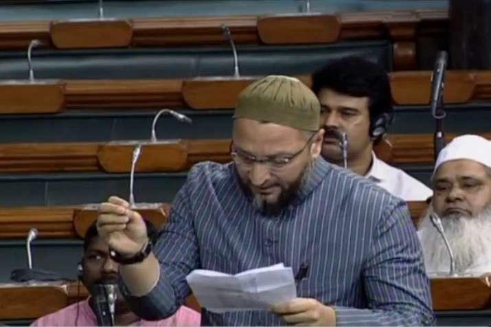 Asaduddin owaisi oppose triple talaq bill- India TV