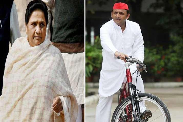 Mayawati and Akhilesh Yadav- India TV