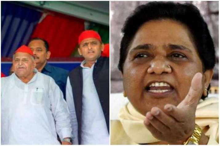 Mayawati Targets Mulayam Singh Yadav says he and BJP framed her in Taj Corridor Case- India TV