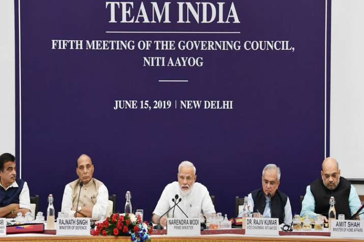 Prime Minister Narendra Modi chairs the fifth meeting of the Governing Council of NITI Aayog- India TV Paisa