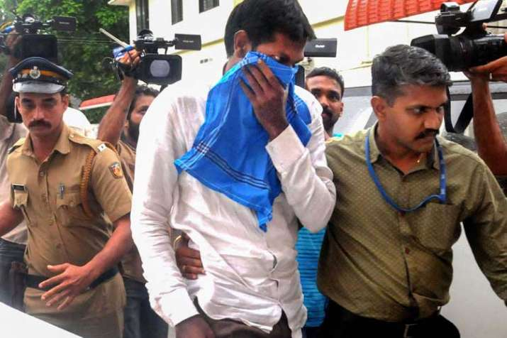 Mohammed Azarudeen,who was arrested by the National...- India TV