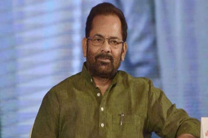Mukhtar Abbas Naqvi- India TV