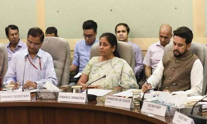 FM discusses budget proposals with financial sector regulators- India TV Paisa