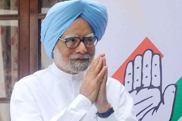 नीति आयोग की बैठक से पहले कांग्रेस शासित राज्यों के मुख्यमंत्रियों ने किया मनमोहन सिंह से मुलाकत- India TV