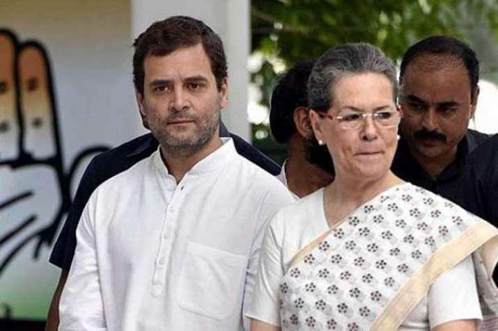 Rahul Gandhi and Sonia Gandhi File Photo- India TV