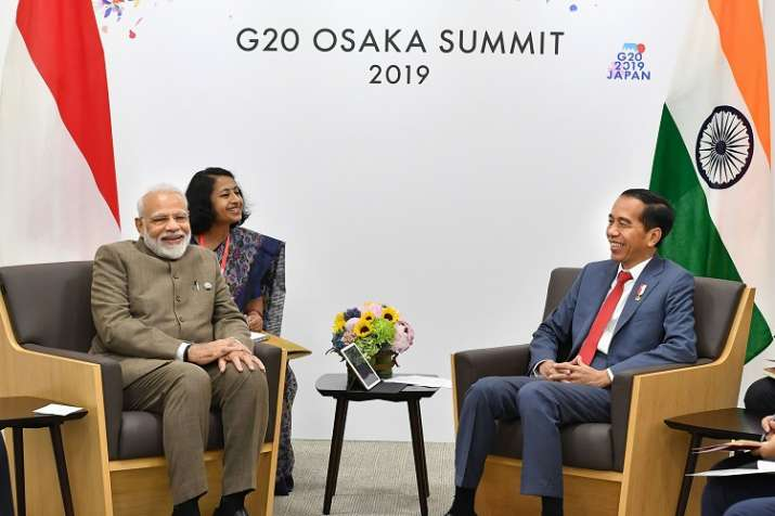 P M Narendra Modi meets the President of Indonesia Joko Widodo, on the sidelines of the G-20 Summit,- India TV Paisa