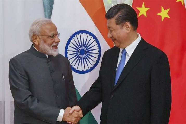 PM Modi Meet Xi Jingping- India TV