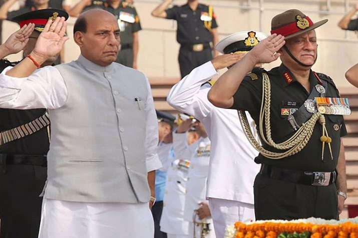 Defence Minister Rajnath singh visit to Siachen on Monday- India TV