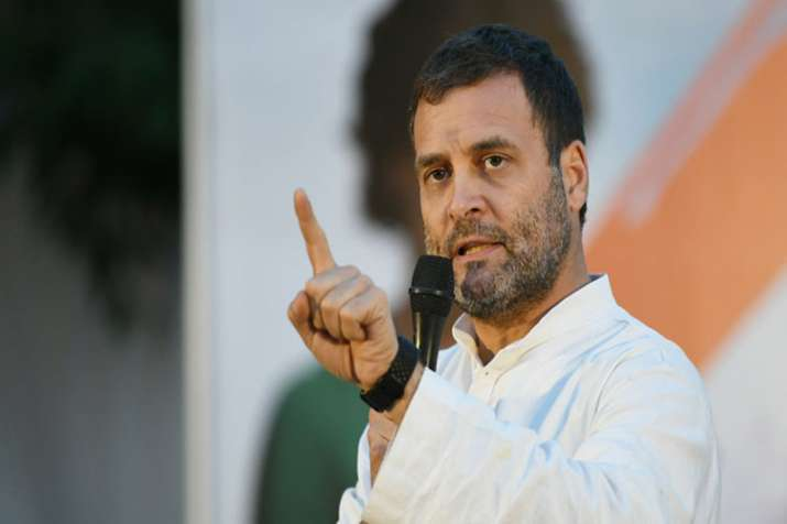 This terrible crime must not go unpunished says Rahul Gandhi on Aligarh murder- India TV