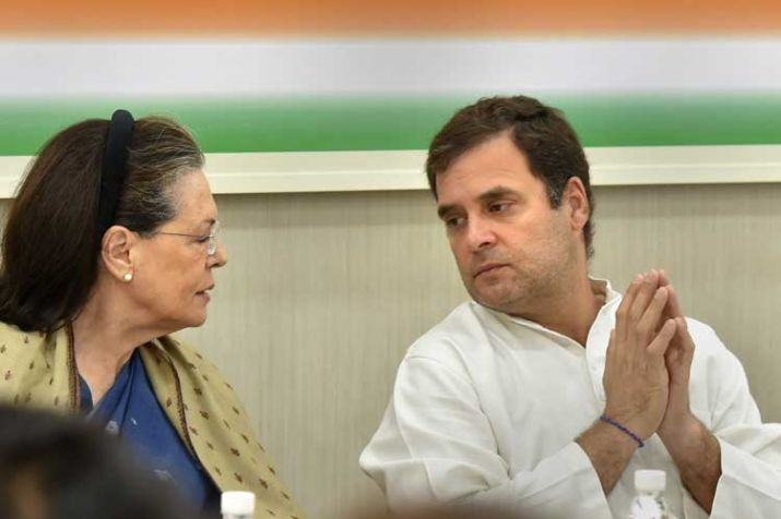 Sonia Gandhi and Rahul Gandhi- India TV