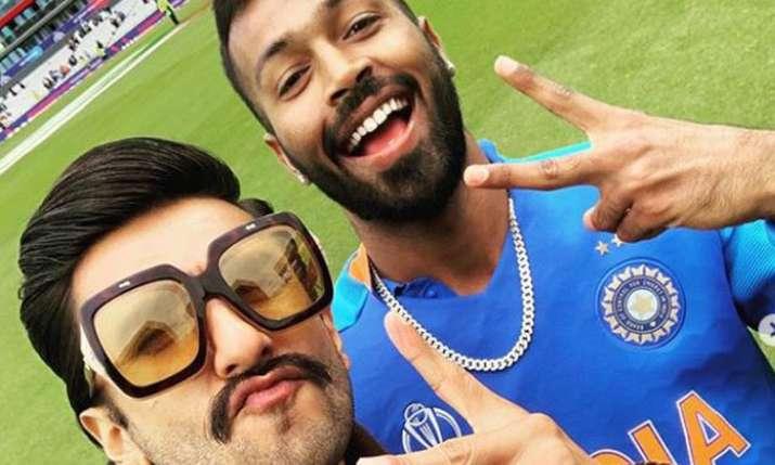 Ranveer Singh with Hardik Pandya- India TV