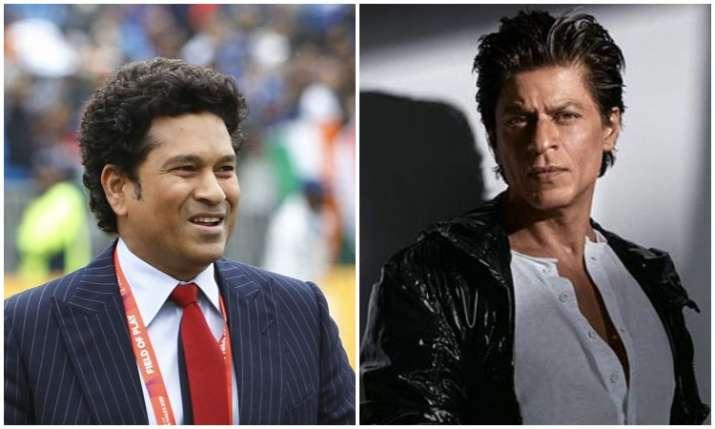 Sachin tendulkar and Shah rukh khan- India TV