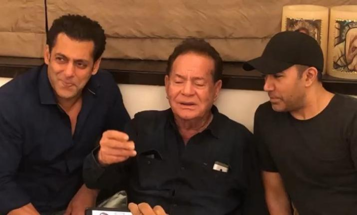 Salman khan and salim khan- India TV