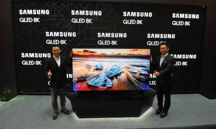 Samsung Brings World's First QLED 8K TV to India- India TV Paisa
