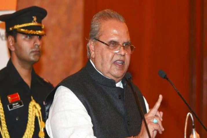 Jammu and Kashmir Governor Satya Pal Malik- India TV