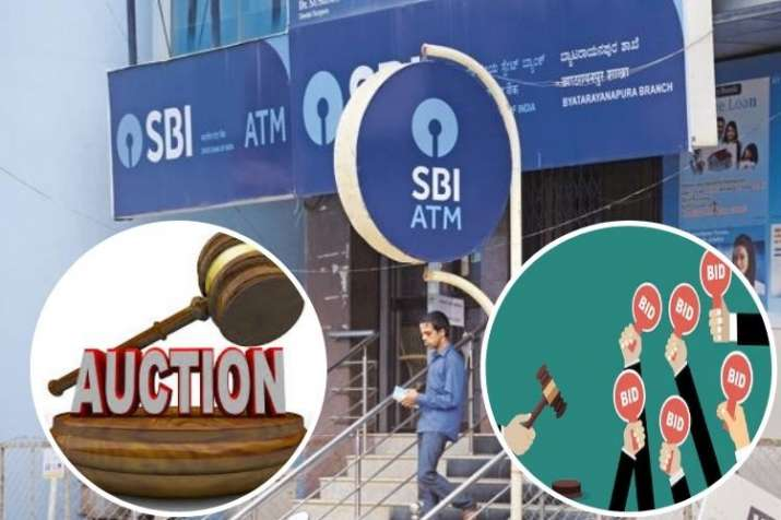 SBI Mega E-Auction for properties sale know how apply online- India TV Paisa