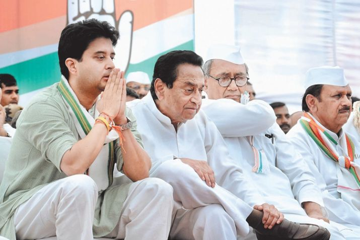jyotiraditya scindia and kamal nath- India TV