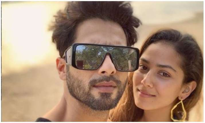 Shahid kapoor and Mira Rajput- India TV