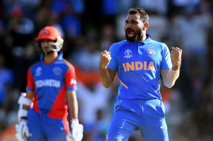 WC19 IND vs AFG Match 28 : शमी की ऐतिहासिक हैट्रिक से भारत ने पूरा किया जीत का अर्धशतक, रोमांचक मुक- India TV