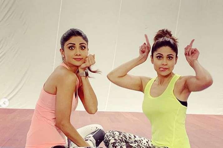 shamita shetty and shilpa shetty- India TV