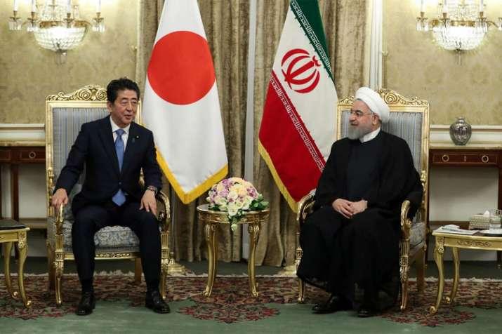 Japanese Minister Shinzo Abe with Ayatollah Khamenei | english.khamenei.ir- India TV