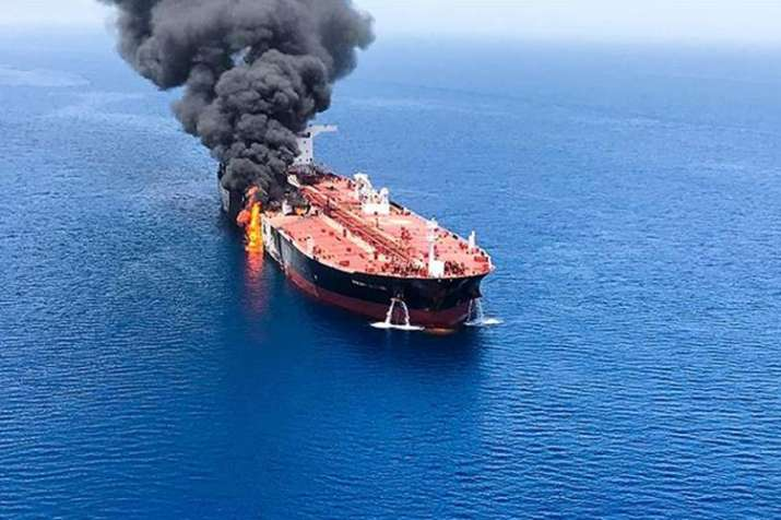 Gulf of Oman tanker attacks: Iran calls accusation by United States 'unfounded'   AP- India TV