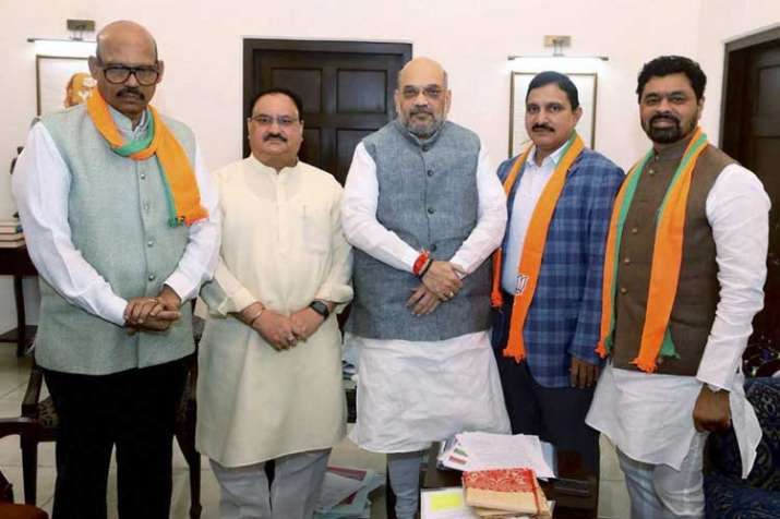 TDP Rajya Sabha MPs Y Sujana Chowdary, TG Venkatesh and...- India TV