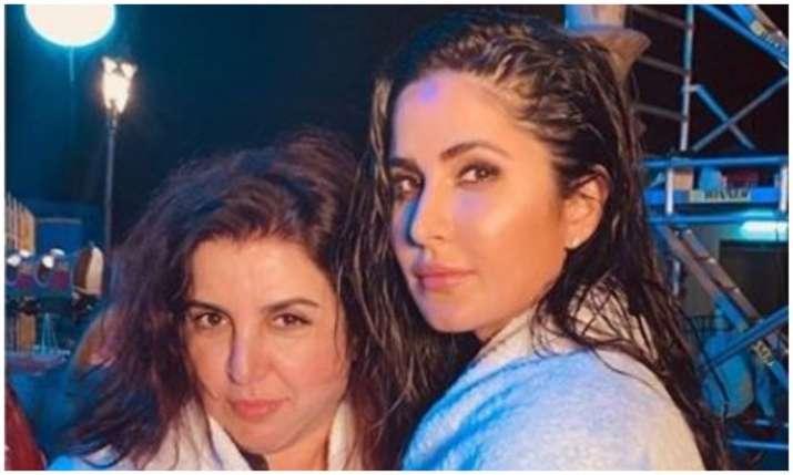 Farah khan and katrina kaif- India TV