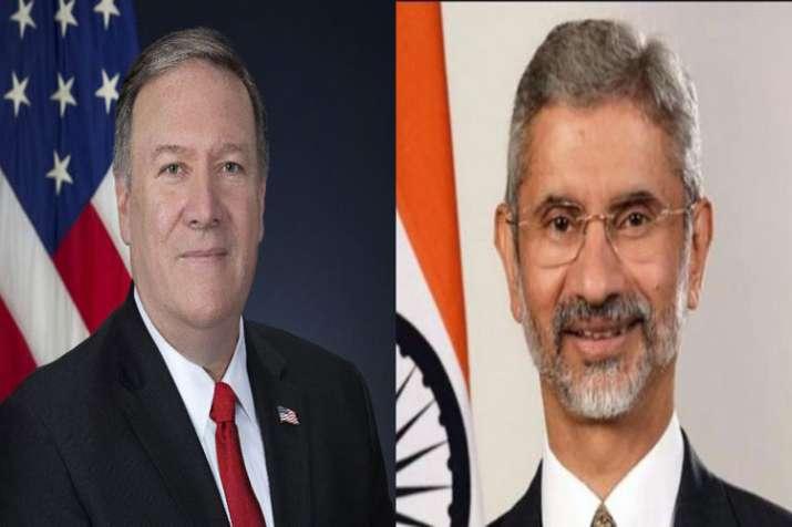 Terror, H-1B, Iran oil to top agenda of Jaishankar-Pompeo meet- India TV