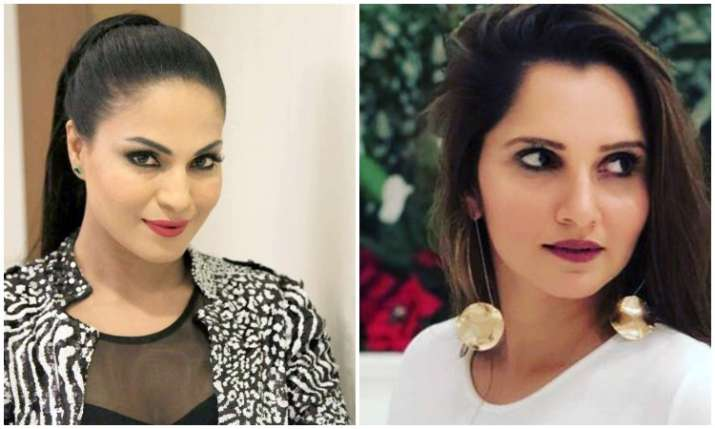 Veena malik and Sania mirza- India TV