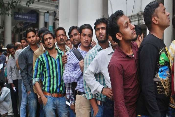 Unemployment rate at 6 percent in financial year 2017-18 highest in 45 years- India TV Paisa