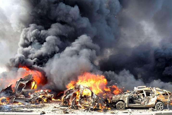 Car bomb blast- India TV