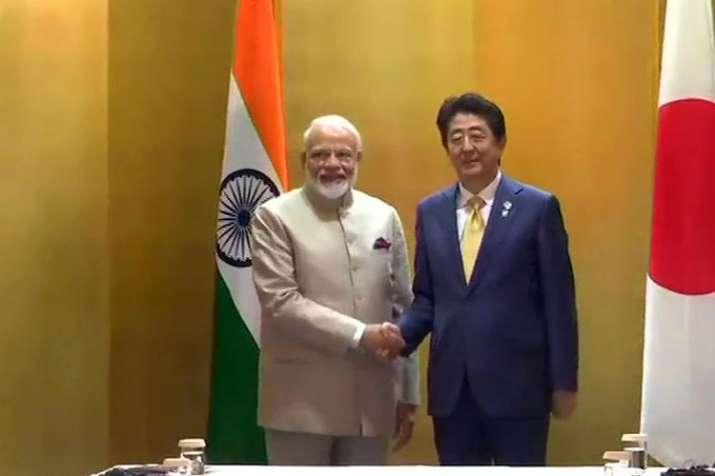 Modi in Japan- India TV